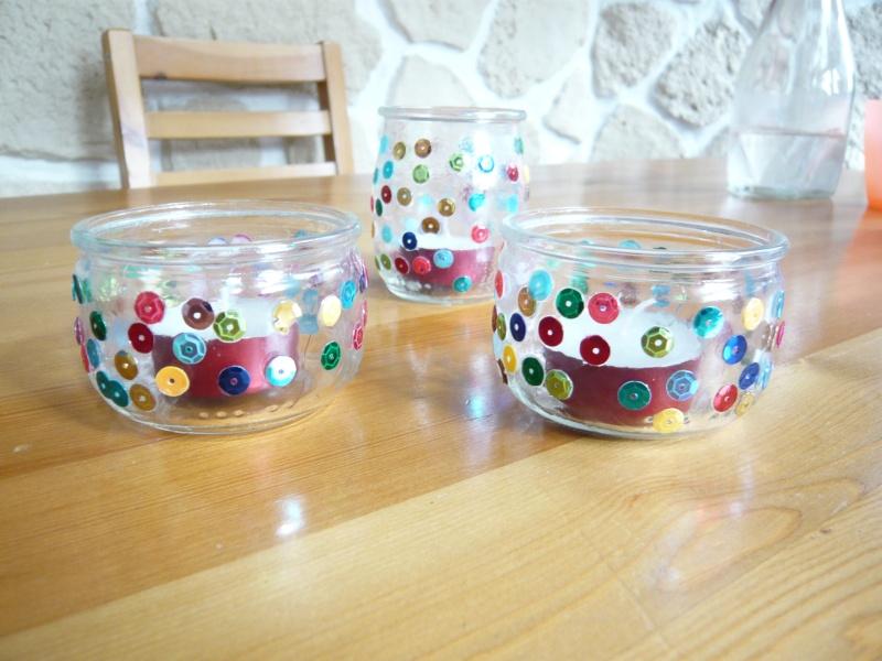 Petit porte bougie for Combricolage avec pot en verre