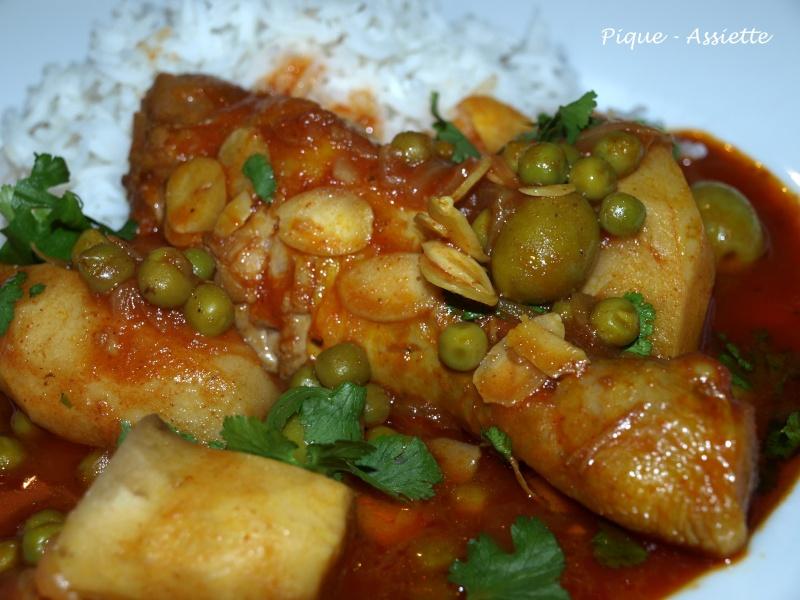 Tajine de poulet et topinambours pique assiette - Cuisiner des topinambours ...