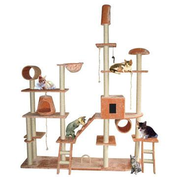 arbre a chat rigolo. Black Bedroom Furniture Sets. Home Design Ideas
