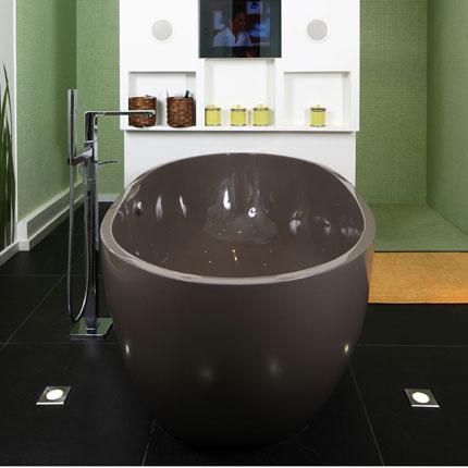 Salle de bain rose carrelage rose page 1 - Baignoire de couleur ...
