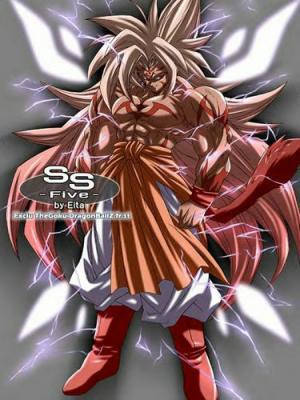 Dragon ball the movie page 1 - San goku super saiyan 5 ...