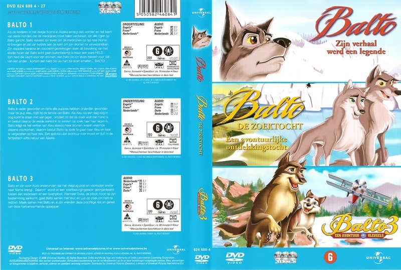 Balto Triple Feature Dvd Front Cover Covers Hut