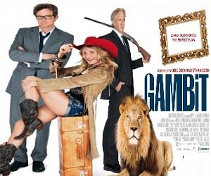 بإنفراد فيلم Gambit 2012 BluRay مترجم - كاميرون دياز