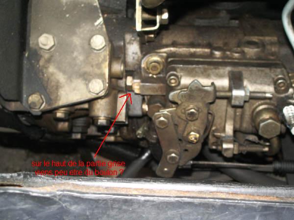 Fuite pompe a gasoil sur master T35D 92 - Réparation mécanique, aide