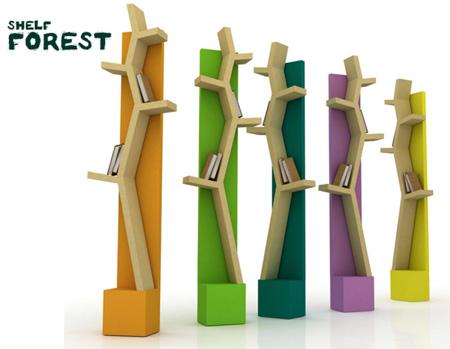 Salle de jeux enfants for Tree shelving unit