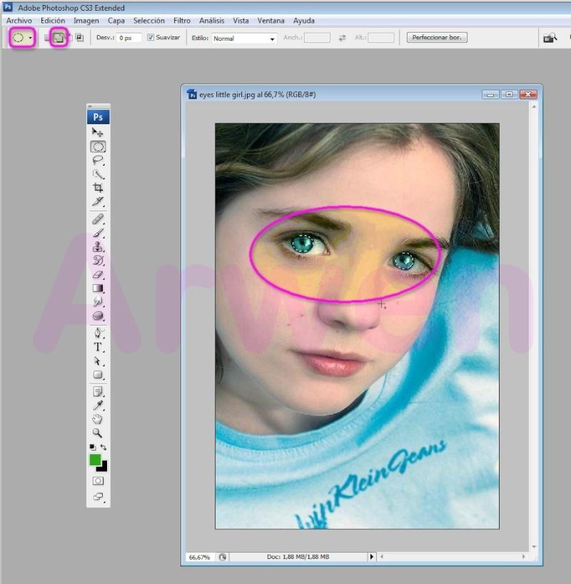 Como Cambiar el Color de Ojos Con Photoshop Cs3 - E-books y ...