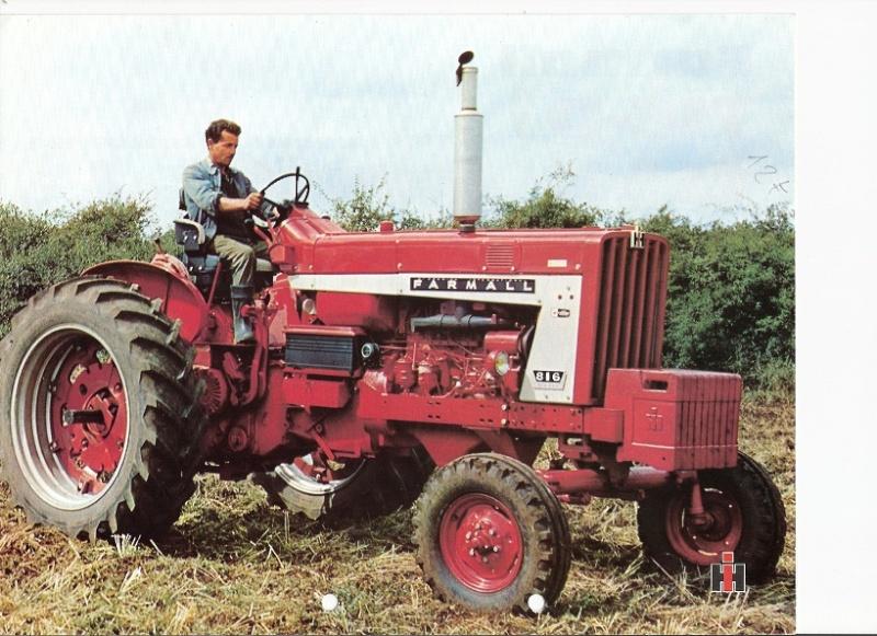 Ih f 716 tracteur les tracteurs rouges - Histoire du tracteur ...