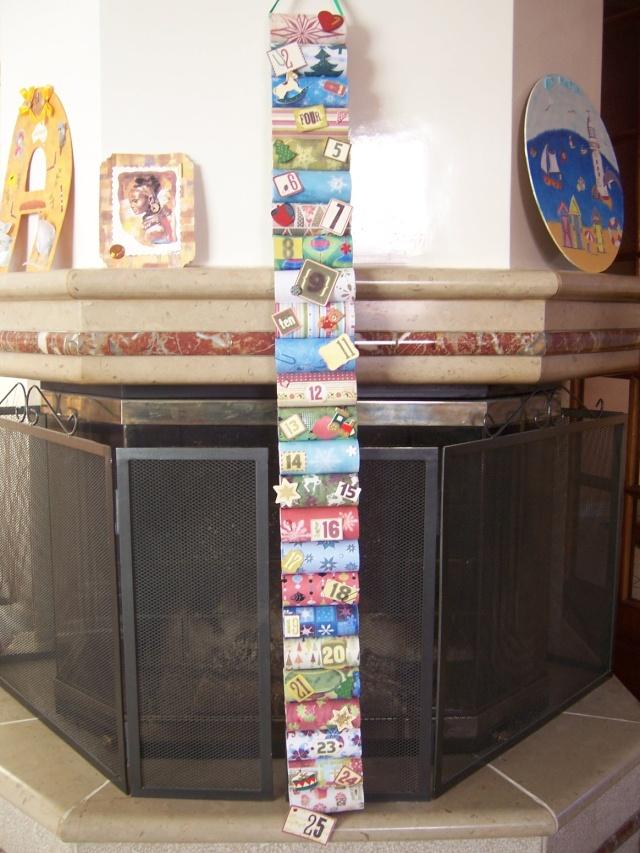 Mon calendrier de l 39 avent 2008 bricolage activit s manuelles assistante maternelle - Bricolage calendrier de l avent ...