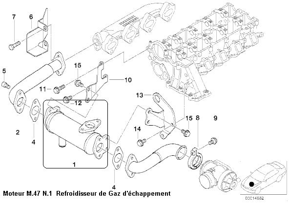 bmw e46 320d an 2000 moteur m47   moteur surchauffe