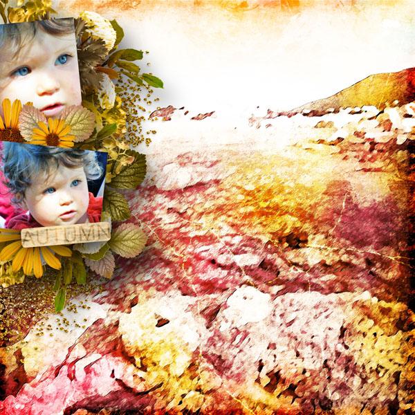 falling in autumn kit simplette page simplette rak marie