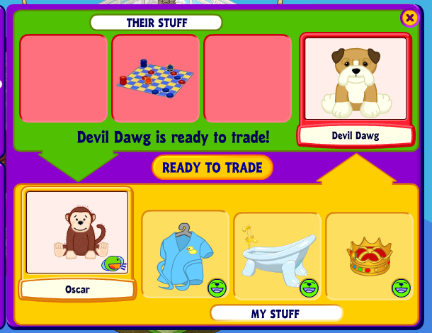 A guide to scammers in the trading room in webkinz world how to click the image to open in full size sciox Choice Image