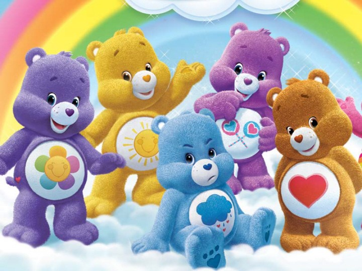 Mes bisounours moi rien qu 39 moi care bears page 2 - Bisounours soleil ...