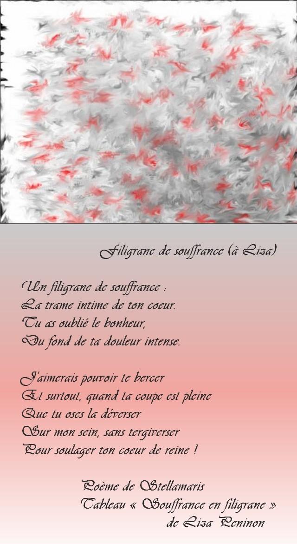 Filigrane De Souffrance Stellamaris Poèmes Et Photographie