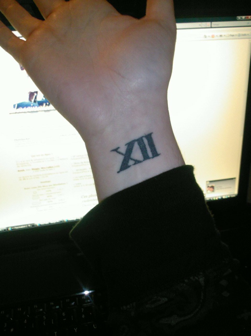 Tatouage xiii signification for Signification chiffre 13