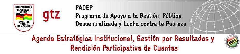 Agenda Estratégica Institucional y Gestión por Resultados