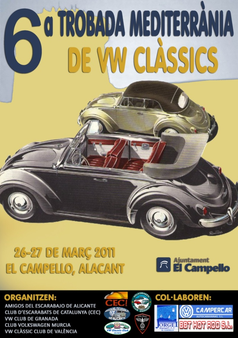 b3a99d15d5 VI Trobada Mediterrànea de VW Clasicos El Campello 26-27 Marzo | El ...