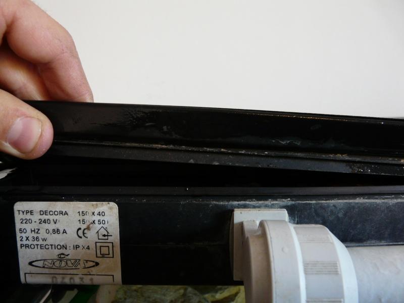Photo reportage changement ballast hs defectueux - Comment changer un neon ...