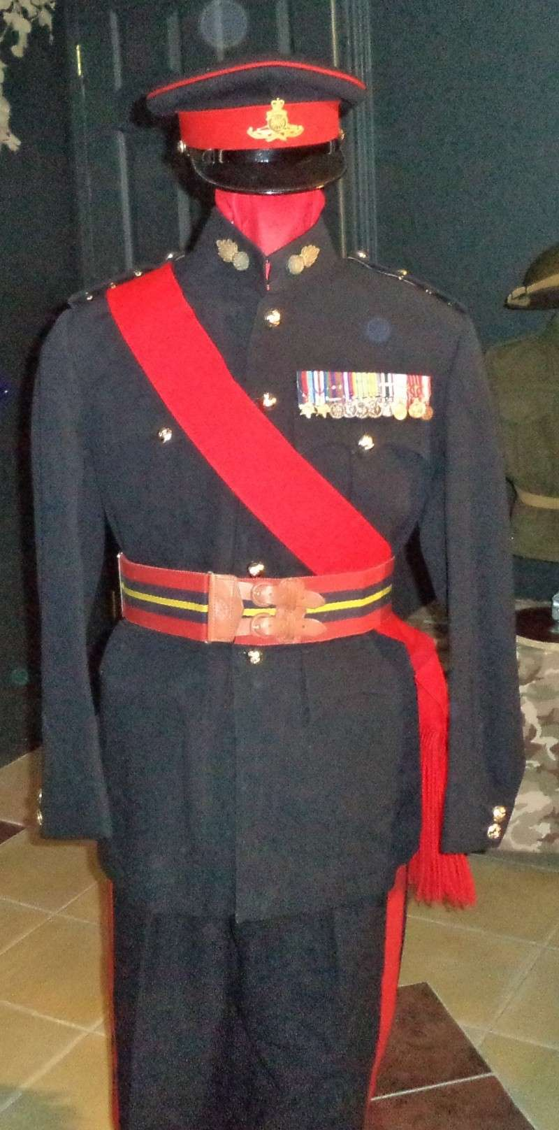 Uniforme d'officier de marine britannique