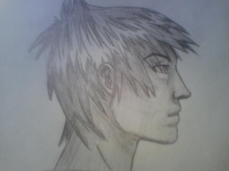 Dessin t tes profile et face - Profil dessin ...