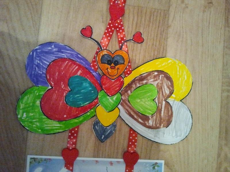 La saint valentin bricolage activit s manuelles assistante maternelle - Activite manuelle st valentin ...
