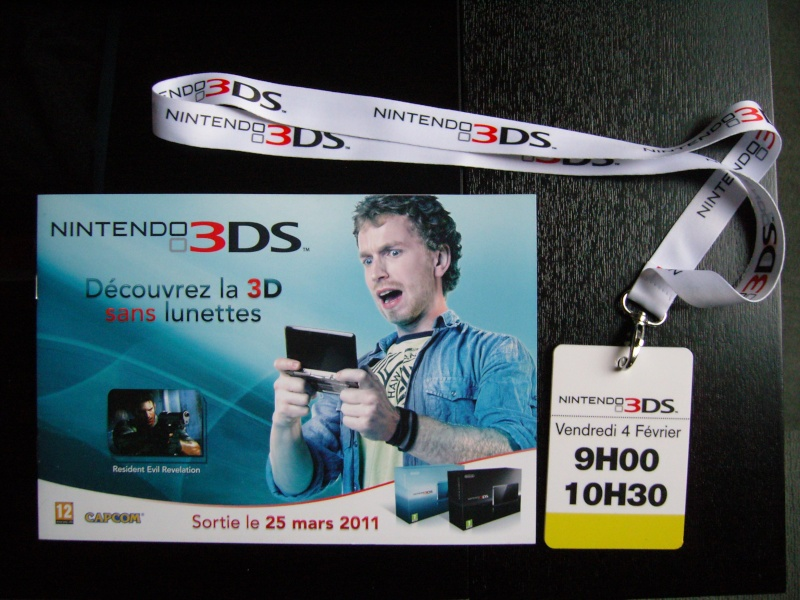 Event 3DS Paris