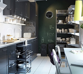 Cuisine manger style et ambiance for Cuisine petite taille