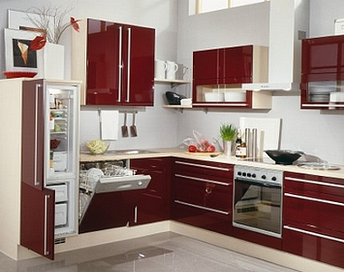 Le rangement bien pens dans votre cuisine - Revetement adhesif pour placard ...