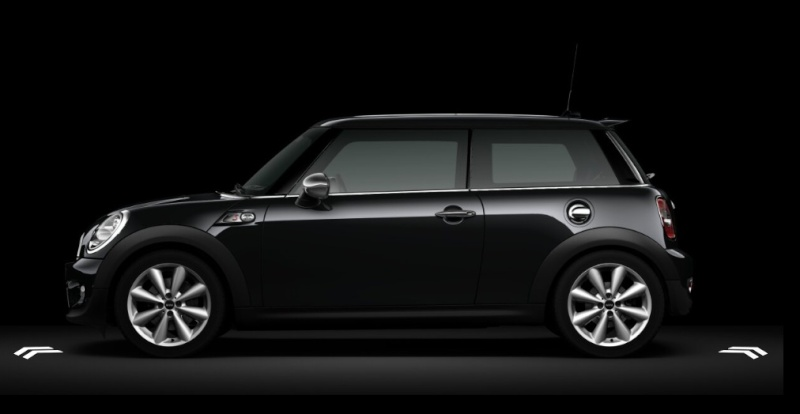 mini cooper s noir ms motors superbe mini cooper s noir mat an 2007 115000kms tts mini cooper. Black Bedroom Furniture Sets. Home Design Ideas