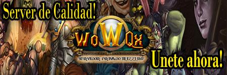 WoW Qx | Servidor Privado Blizzlike