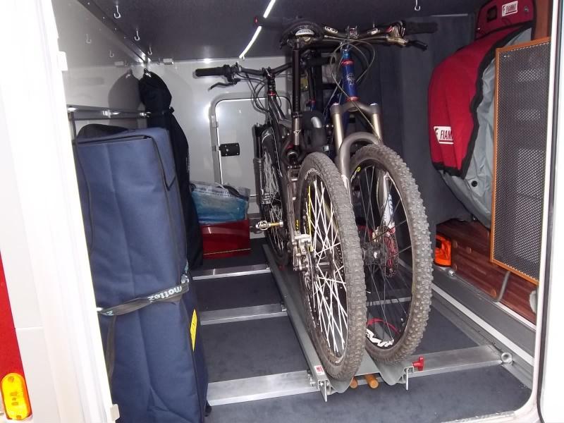 Route occasion: Amenagement soute camping car rapido