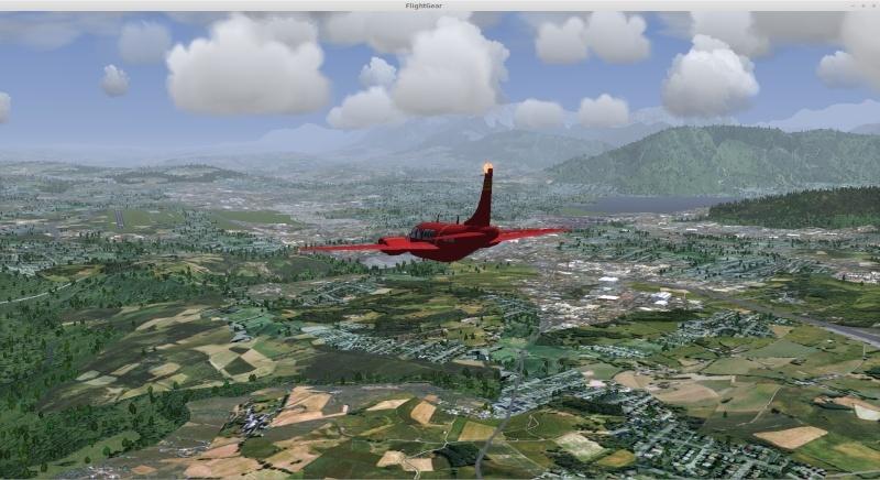 scene flightgear