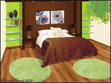 Chambre Marron Et Vert - Deco Chambre Vert Et Marron - Atic.info