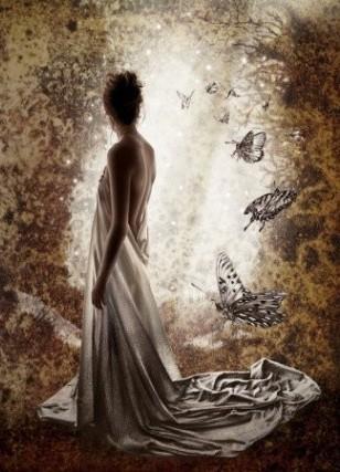 Femme papillon dans MOMENT DE VIE 9f5ff810