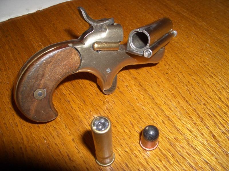 Revolver bull dog 12 mm foro de tiro caza for Pistolet 6mm bosquette