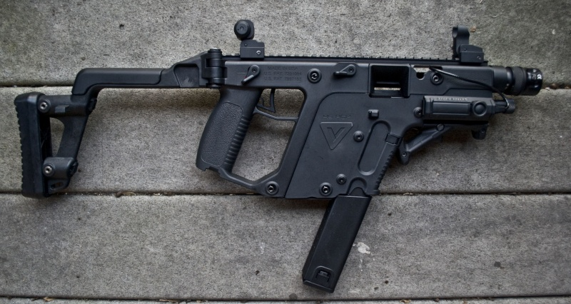 KWA KRISS Vector Gas Blow Back Airsoft Gun ( NS2 System ) by: KWA -