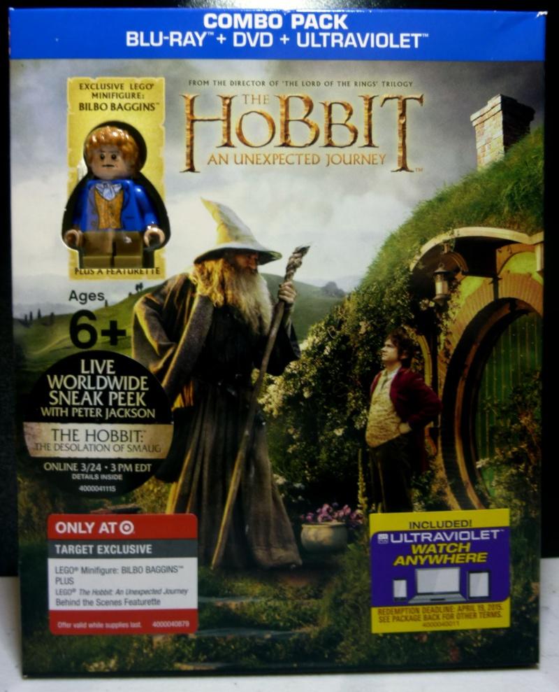 USA Target Blu-Ray Hobbit: Bilbo Exclusive minifig - LEGO Historic