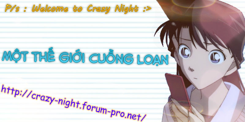 •·.·´¯`·.·• ( Crazy Night - Fan Angel Ran ) •·.·´¯`·.·•