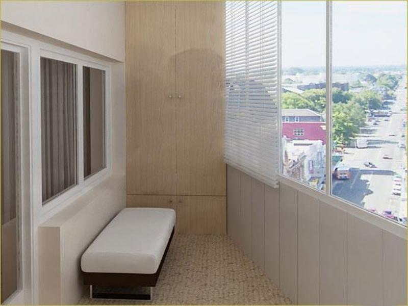 Обивка вагонкой балкона в Херсоне, 0990032044