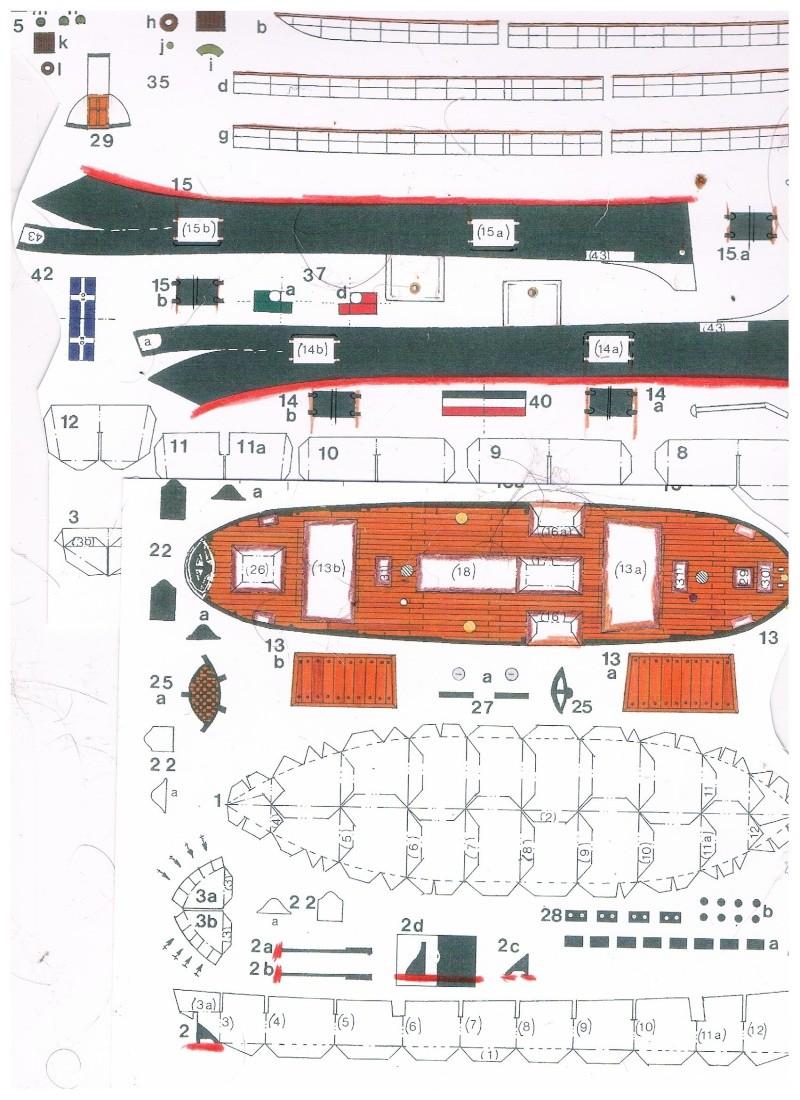 Bastelbogen Schiff Kostenlos