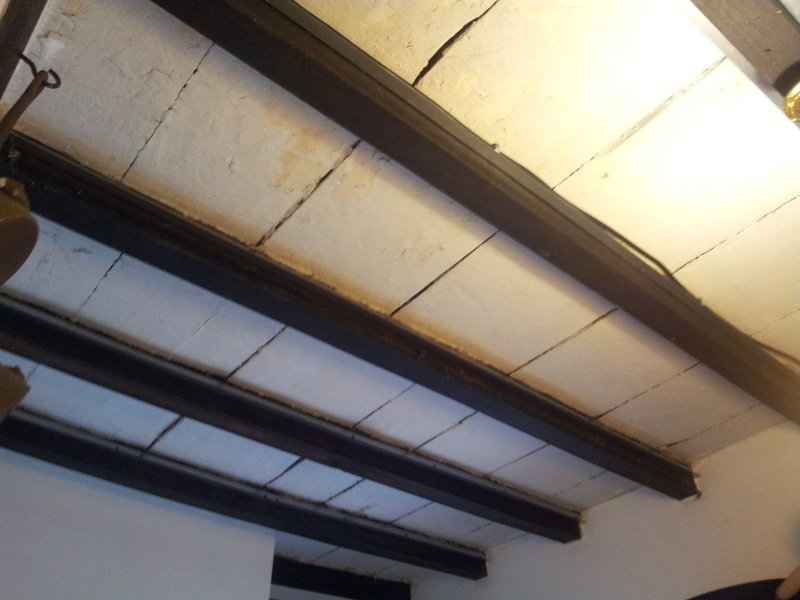 Coller du placo sur plafond bois - Coller placo sur mur ...