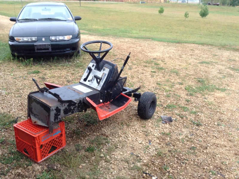 Mtd Mud Mower : Hp gilson to a offroad mudding mower