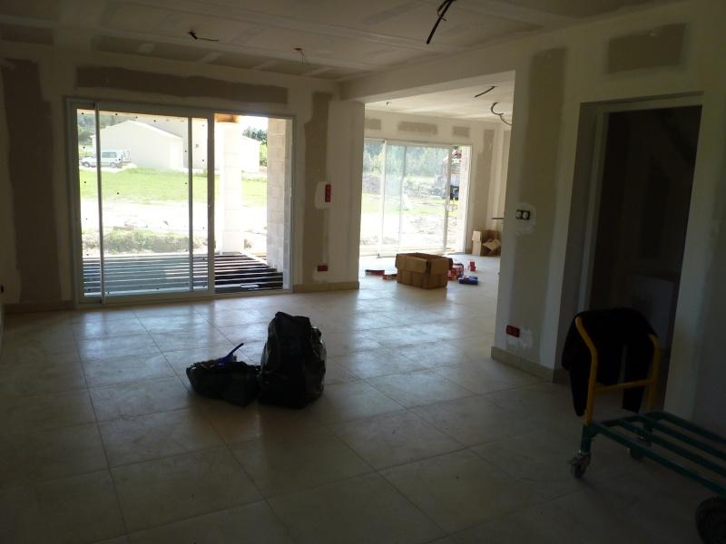 Choix peinture salon salle manger cuisine hall for Pb choix peinture cuisine
