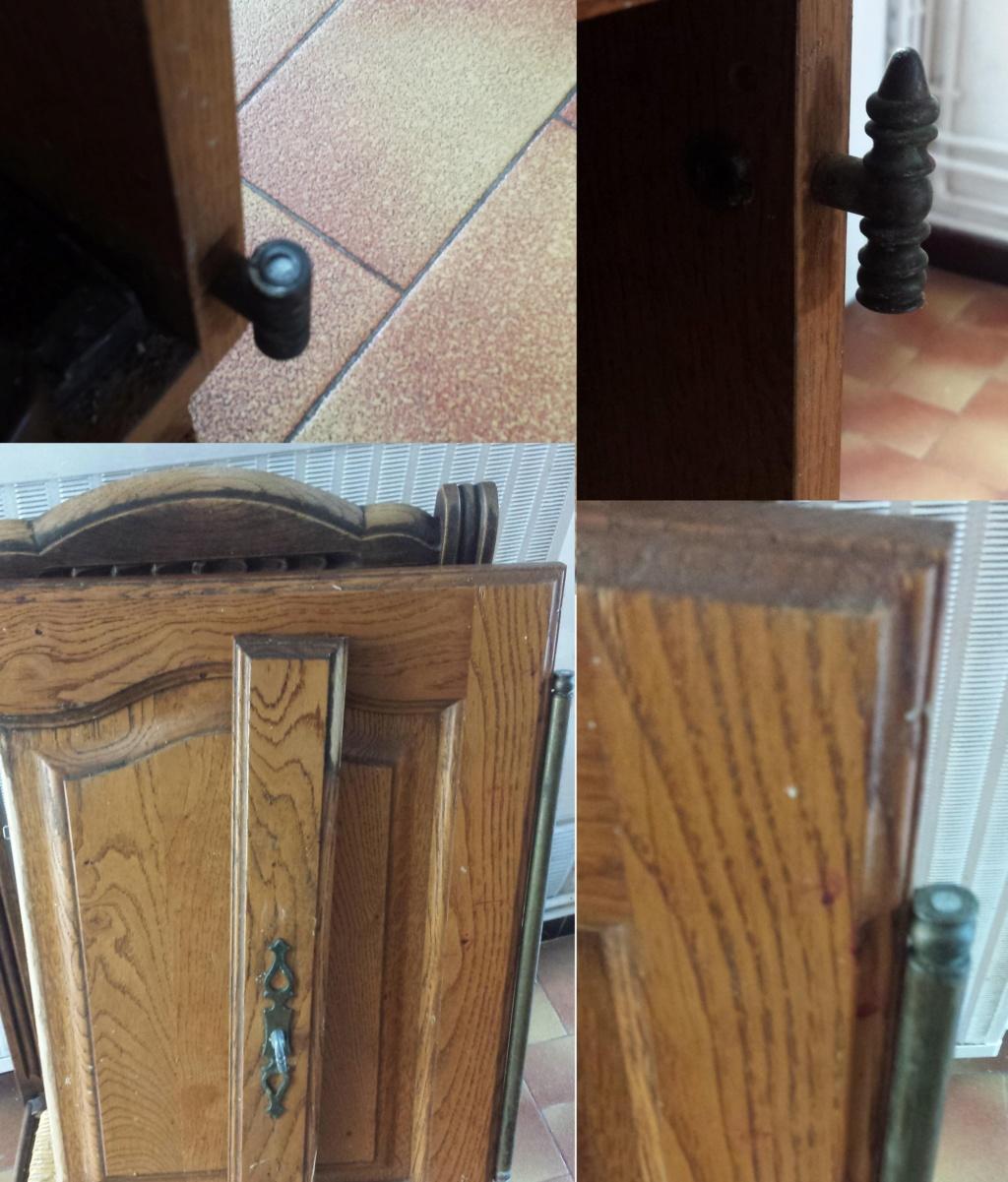 Réparation porte placard de cuisine