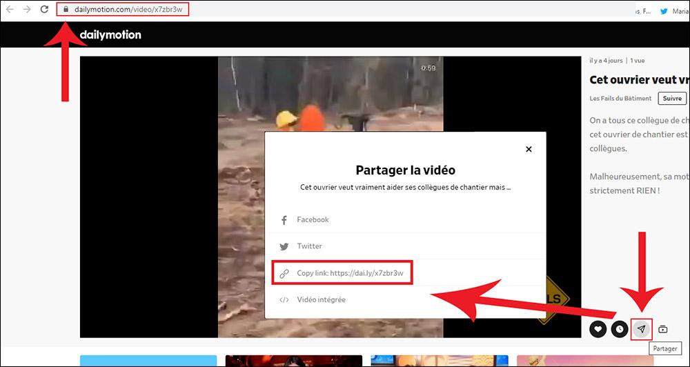 comment télécharger vidéos Dailymotion